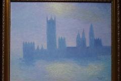 Das Parlament von London, nach Monet o